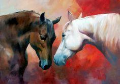 cuadros-pinturas-de-caballos