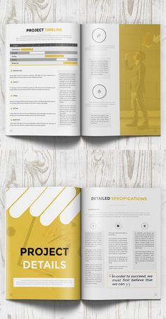Business Proposal Template on Behance