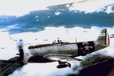 Mexican Expeditionary Air Force Thunderbolt from Escuadrón 201 (201st Squadron) over Philippines in summer of 1945