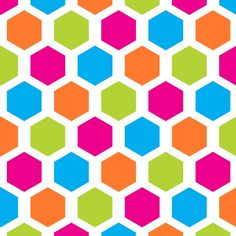 Hexagon Wallpaper Pattern