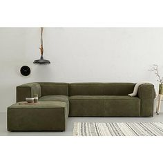 leren hoekbank links Lima – Finance is important Living Room Sofa, Living Room Furniture, Sofa Furniture, Furniture Design, Olive Green Couches, Sofa Inspiration, Curved Sofa, House Inside, Lounge Sofa