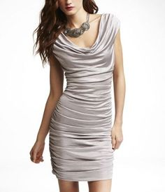 WANT! I need a sexy dress. Would look awesome with my yellow pumps & a colored belt.