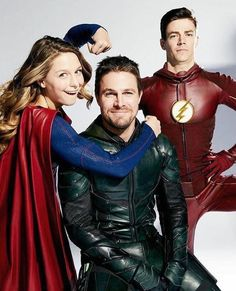 super girl, arrow e flash