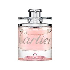 Eau de Cartier Goutte de Rose ($67) ❤ liked on Polyvore featuring beauty products, fragrance, cartier perfume and cartier fragrance