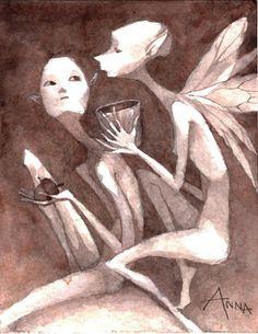 Anna's Sketch Studio: Fairy Portfolio