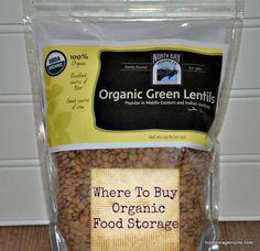 Where To Buy Organic Food Storage