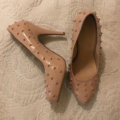 Shoedazzle heels Nude Shoe Dazzle Shoes Heels