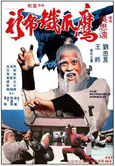 """The Invincible Armour (1977) """"Ying zhao tie bu shan"""" (original title) Stars: John Liu, Jang Lee Hwang, Chiang Wang ~ Director: See-Yuen Ng"""