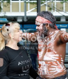 Aboriginal Man Royalty Free Stock Photo