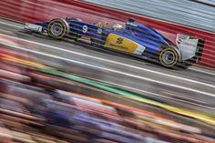 Speed shot of Marcus Ericsson