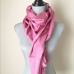 Blush PINK scarf shawl wrap Nice light pink dust wrap shawl pashmina Accessories Scarves & Wraps