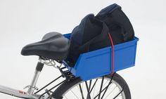 Portaobjetos para bicicleta