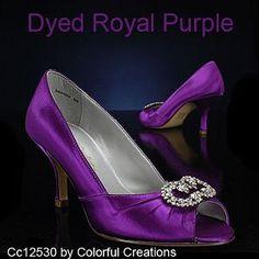 Purple Wedding Shoes I Love