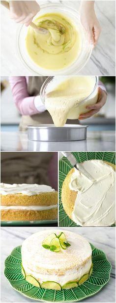 Naked Cake de Limão, O QUE TEM DE LINDO TEM DE FACIL DE FAZER #NAKEDDELIMAO #sobremesa #doce #doces