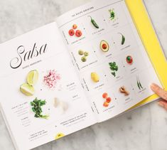 We cannot WAIT for the @loveandlemons Cookbook this spring! Look how pretty it is! #cooking #food #salsa