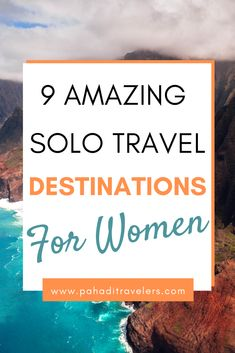 List of places that are best solo travel destinations for women. Check out this amazing post. Best Solo Travel Destinations, Solo Travel Tips, Best Places To Travel, Cool Places To Visit, Amazing Destinations, Travel Alone, Travel Information, Spain Travel, Time Travel