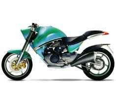 """Aprilia Shiver """"Concept Bike"""" (1995)"""
