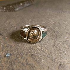 Guarda questo articolo nel mio negozio Etsy https://www.etsy.com/it/listing/562526037/silver-ring-hand-madeancient-shape-roman