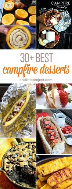 These recipes for campfire desserts are seriously making me drool. I had no idea. These recipes for campfire desserts are seriously making me drool. I had no idea you could cook SO MANY DIFFERENT DESSERTS over a campfire! Camping Diy, Outdoor Camping, Camping Hacks, Camping Guide, Camping Cooking, Camping Checklist, Camping Supplies, Camping Essentials, Cooking Food