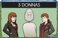 12 Days of Doctor Who - 3 Donnas