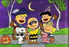 A Scene From The Great  Pumpkin Charlie Brown.