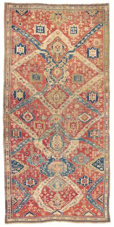 """Caucasian """"Dragon"""" carpet, South Caucasus, late 18th c."""