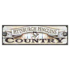 Pittsburgh Penguins 9x30 Wood Sign $49.99 http://www.fansedge.com/Pittsburgh-Penguins-9x30-Wood-Sign-_-1661300587_PD.html?azproducts=23-02573=pinterest_pfid23-02573