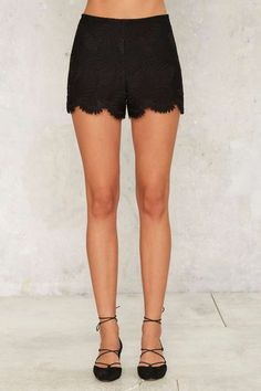 Crop Talking High-Waisted Shorts - Clothes | Two Piece Sets | High Waisted | Casual