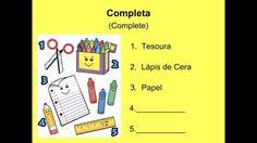 European Portuguese - Lesson 11 - School Material - Material Escolar