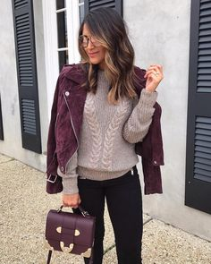 """4,210 Me gusta, 72 comentarios - Jennifer Palpallatoc (@hauteofftherack) en Instagram: """"Obsessed with the fit of this cable knit sweater and it just so happens to be 25% OFF with code:…"""""""