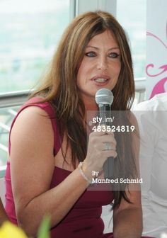 News Photo : Kelly LeBrock attends the Dancer Against Cancer' Press Conference Caption:VIENNA, AUSTRIA - APRIL 04: Kelly LeBrock attends the 'Dancer Against Cancer' press conference at Donauturm on April 4, 2014 in Vienna, Austria. (Photo by Manfred Schmid/Getty Images)