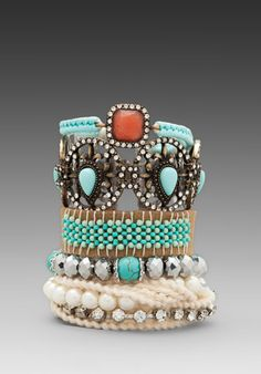 SAMANTHA WILLS Shells & Secrets Bracelet Set in Multi