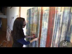 Lisa Nankivil explains her work, her process and her thoughts on abstract art
