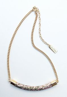 Beautiful bar necklace, by Lily Dilly, now available on ETSY!