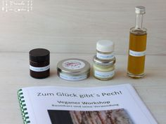 Naturkosmetik mit Pech & Harz -Pechsalbe - Freude am Kochen Candle Jars, Candles, Soap, Personal Care, Bottle, Joy Of Cooking, Resin, Organic Beauty, Learning