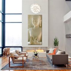 Buddha Wall Art - Marble Effect    https://zenyogahub.com/collections/meditation-collection/products/buddha-painting-marble