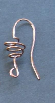 Handmade Ear Wires: Just in the Nick of Time  This is a brief description of variations of handmade ear wires that can be made based on the Magpie Gemstones video on the same topic. If you have not already, please watch this http://www.magpiegemstones.com/earwiretutorial.html as a preview to this information.
