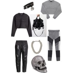 A fashion look from November 2014 featuring H&M tops, H&M pants and Alexander McQueen necklaces. Browse and shop related looks. H&m Tops, Alexander Mcqueen, November, Fashion Looks, Necklaces, Pants, Stuff To Buy, Shopping, Design