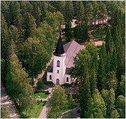 Church in Törnävä area. Originally built for gunpowder storehouse in 1827. Transformed into church in 1864.