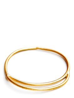 Brass Crescent Bracelet