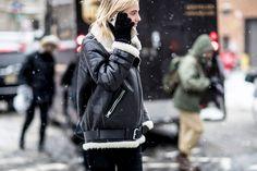 New York Fashion Week Street Style Day 2 Fall 2017