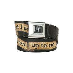 Harry Potter Solemnly Swear Seat Belt Belt   Hot Topic ($27) ❤ liked on Polyvore featuring accessories i belts