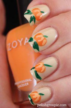 Pumpkin Halloween Fall Nail Art