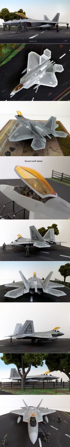Revell F-22 72nd scale