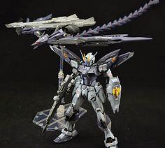 GUNDAM GUY: 1/100 Strike Gundam 'Death Bird Assault' - Custom Build