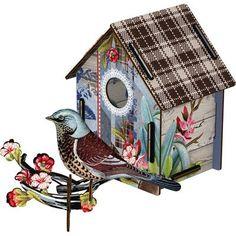 Miho - Décoration murale - Cabane à Oiseaux I'm Black ! (moyen modèle): Amazon.fr: Bébés & Puériculture