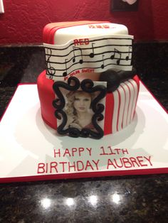 My birthday cake t-swizzle