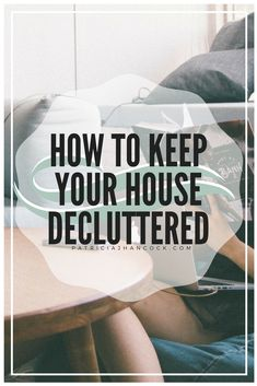 Finally decluttered your whole home? Learn how to keep in decluttered for good. Speed Cleaning, Cleaning Hacks, Emotional Clutter, Let Go Of Anger, Clutter Solutions, Declutter Your Life, Clutter Organization, Meaningful Life, Simple Living