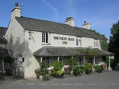Drunken Duck Inn at Lake Windermere in the Lake District (for all th romance anyone can handle! Windermere, Great British, Cumbria, Lake District, Hotel Offers, Puzzles, Places To Visit, Around The Worlds, Romance