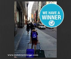 Congratulations to Letitia Walker of Lafayette, LA for winning this year's #KidsTravelZone photo contest. We hope you enjoy your $200 Gift Card to be used at #MarriotHotels. Thanks! We Have A Winner, Kids Luggage, Photo Contest, Travel With Kids, Travel Style, Congratulations, Street View, Thankful, Gift